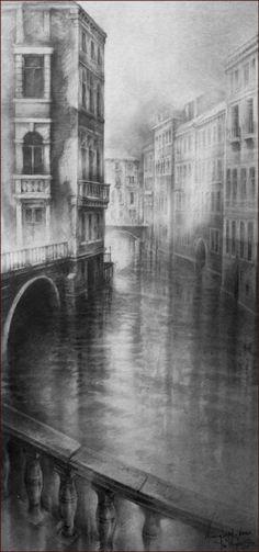 Venetian Morning Light » Ian Murphy Drawings