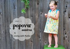 Free Oliver sundress pattern linked here. How did I miss this one?