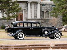 933 Cadillac V-16 Seven-Passenger Sedan by Fleetwood