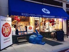 Blue Bunny Books ~ Dedham Square, Massachusetts