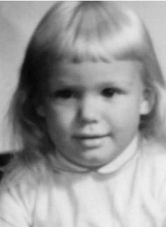 Nancy Wilson as a toddler