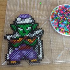 Dragon Ball Z perler beads by the_nerdy_girl_crafter