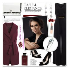 """bella's treasure"" by anyasdesigns ❤ liked on Polyvore featuring Miu Miu, Phase Eight, Proenza Schouler, White House Black Market, Dolce & Gabbana Fragrance and Rimmel"