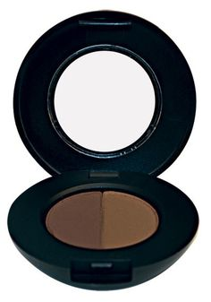 Brow Powder Duo - Brown. The eyebrow is the picture frame of the eye. To make sure your eye is always perfectly framed, glominerals offers four brow powder duo shades to expertly match any brow color. Mix the 2 shades to expertly fill in sparse areas of the brow.