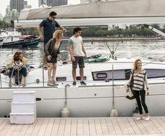 Os sete filhos de Miguel (Domingos Montagner) se reúnem em viagem de barco, no último capítulo da no... - Divulgação, TV Globo