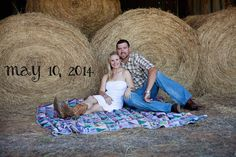 Kala and Mike country engagement picture