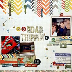 Road Trippin' #simplestories #picturethis