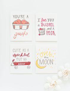 Southern Phrase Letterpress Greeting Card | Southern Weddings Shop