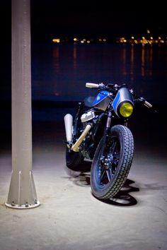 Honda CX 500 Cafe Racer Blubber by Ton-Up Garage #motorcycles #caferacer #motos | caferacerpasion.com