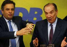 Aécio Neves alterou 2.397 recibos eleitorais durante a campanha de 2014,imprensa esconde