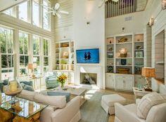 family room | High Cotton - WaterColor, Florida