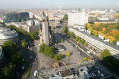 "Breitscheidplatz med Gedächtniskirche - sentrum av ""Vest-Berlin"""