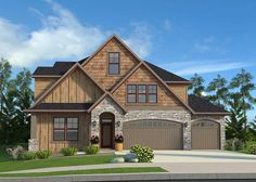 Rugged Northwest House Plan - 85153MS | 2nd Floor Laundry, 2nd Floor Master Suite, Bonus Room, Butler Walk-in Pantry, CAD Available, Craftsman, Den-Office-Library-Study, Exclusive, Northwest, PDF | Architectural Designs