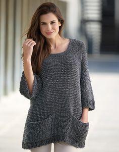 Book Woman Sport 90 Autumn / Winter | 44: Woman Sweater | Grey