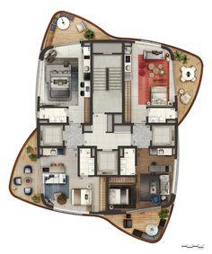 Neorama - Floor Plan - Cyrela/Pininfarina