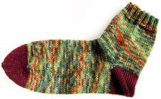 Socken stricken ohne Stress: Die Nachtragsferse - Lanade
