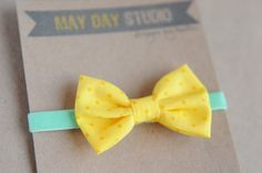 newborn baby toddler girls fabric bow by maydaystudiodesigns, $12.00