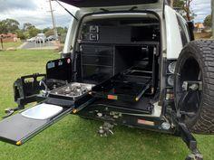 Custom made drawers, aluminium drawers, canopy drawers, 4WD storage system, under tray drawers, ute drawers