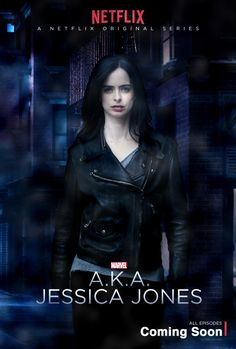 We sort of owe you an apology on this one, folks… the official poster for Marvel & Netflix's AKA Jessica Jones Jessica Jones Marvel, Jessica Jones Netflix, Luke Cage, Rachael Taylor, Film Serie, Marvel Universe, David Tennant, Marvel 616, Funny Movies