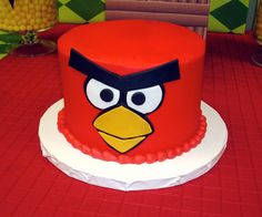 Many Means: ANGRY BIRDS BIRTHDAY CAKES : Do you wanna your Birthday Cake like that?