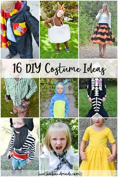 Enjoy this list of DIY costume ideas that are perfect for Halloween or just playing dress up. My kids never need an excuse to imagine, play, and dress up. Ghost Costume Diy, Easy Costumes, Diy Halloween Costumes, Costume Ideas, Costume Patterns, Cosplay Costumes, Marshmallow Costume, Sewing Blogs, Sewing Tips
