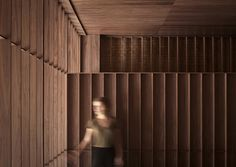 Ricard Camarena Restaurant in Valencia by Francesc Rifé Studio Cafe Interior, Interior Design Studio, Interior Exterior, Interior Walls, Interior Architecture, Contemporary Architecture, Interior Office, Interior Concept, Dark Interiors