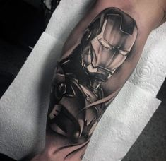70 Iron Man Tattoo Designs For Males – Tony Stark Ink Concepts – Tattoos Disney Tattoos For Men, Cool Tattoos For Guys, Great Tattoos, New Tattoos, Body Art Tattoos, Tattoos For Women, Marvel Tattoo Sleeve, Avengers Tattoo, Marvel Tattoos