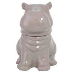 Hippo Cookie Jar by Threshold™ from Target Stores Ceramic Cookie Jar, Cookie Jars, Hippopotamus For Christmas, Ruby Red Slippers, Sponge Holder, Cookie Time, Cool Things To Buy, Stuff To Buy, Food Storage