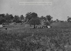 Manassas, Virginia (vicinity). Camp of General Irvin McDowell's body guard. Date: July 5,1862