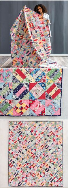 Abysinna quilt pattern and kit by Janice Ryan at Craftsy