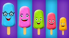 The Finger Family Ice Cream Family Nursery Rhyme | Ice Cream Finger Fami...