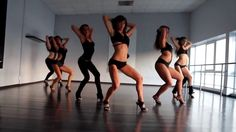 sexy and hot girls dance