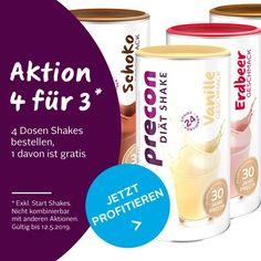 Diätshake zum Abnehmen - Precon Diät - Onlineshop Pet Water Fountain, Shops, Blog, Protein Diets, Rezepte, Tents, Retail Stores