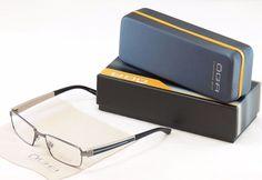 OGA Morel Authentic Eyeglasses Frame 74110 GB021 Gunmetal Plastic Metal France #OGA