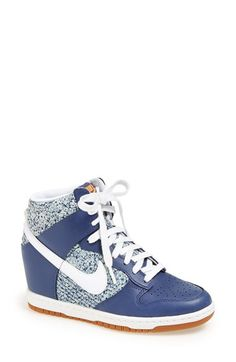 Nike 'Dunk Sky Hi Liberty' Hidden Wedge Sneaker (Women) available at #Nordstrom