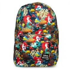 Loungefly Disney Ariel Photo Real Backpack *** Check out the image by visiting the link.