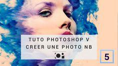 Tuto photoshop 5 -  créer une image noir et blanc