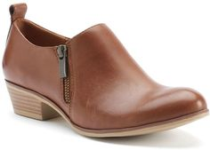 SONOMA Goods for LifeTM Women's Leather Low Ankle Boots