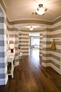 I hope I have enough courage to have this one someday! Striped entry