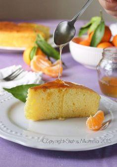 Torta soffice ai mandarini alla panna senza burro ricetta cucinare dolce colazione merenda dolce Statusmamma Giallozafferano foto