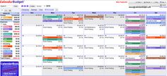 Top 12 Online Money Management Apps: CalendarBudget