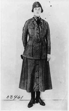 Woman-wearing-American-Red-Cross-motor-Corps-uniform-full-lgth-World-War-I-WWI