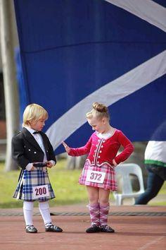 From Highland dance Australia