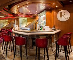 Join us for a drink at the R Bar on Navigator of the Seas.