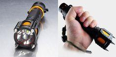 Tactical Self-Defense Flashlight