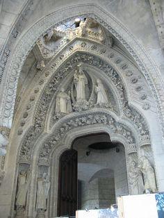 Image detail for -Sagrada Família, Rosary door (1884-1926)