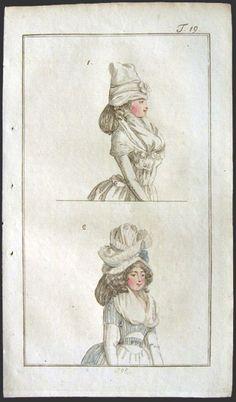 Journal des Luxus und der Moden, 1792.
