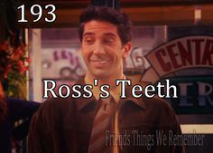 Ross tries to impress a date