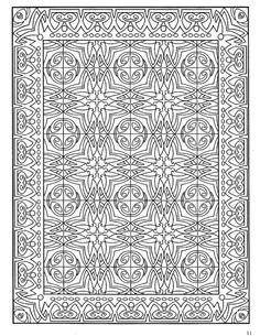 Dover Decorative Tile Coloring Book