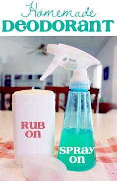 DIY Desodorante y antitranspirante (aluminio Free) ~ NutButterLuver